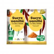 Sucre Vanillé Bio - 2 sachets de 8g