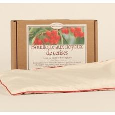 Bouillotte aux noyaux de cerises bio - Mille Oreillers