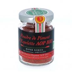 Piment d'Espelette AOP bio, 40 g