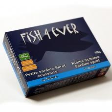 Petites Sardines au Naturel 105g - FISH4EVER