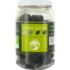 Olives Noires 125g-Philia