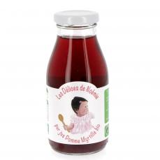 Pur Jus pomme myrtille bio pour bébé, 25 cl