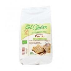 MA VIE SANS GLUTEN Préparation pour pain bio au millet et aux graines bio & sans gluten