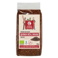 Quinoa rouge équitable et bio - 500gr