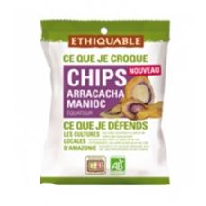 ETHIQUABLE - Chips Arracacha Manioc bio & équitable