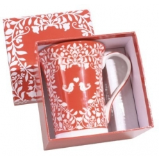 Bougie en mug -  parfum Roses et Feuilles - Atelier Catherine Masson