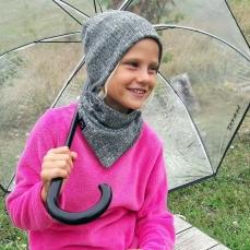 Bonnet Enfant Imprimé  Anti-Ondes- 4/10 ans
