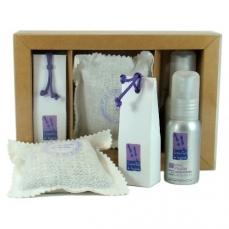 Coffret huile essentielle lavandin  spray et mini-savon -  l'Essentiel de Lavande