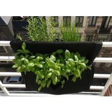 Jardinière géotextile pour balcon