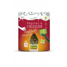 Pépites à croquer mix salé aux légumes parfumés 80g