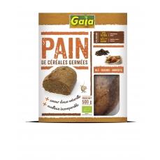 Pain de céréales germées Blé/raisins/abricots 500g