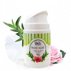 Belle Oemine Crème de jour ROSE ALOE certifiée BIO - 50 ml