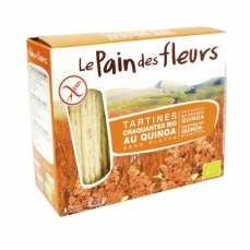 LE PAIN DES FLEURS Tartines craquantes au quinoa sans gluten bio