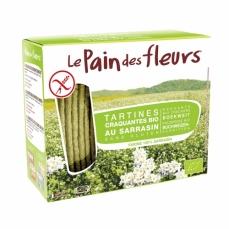 LE PAIN DES FLEURS Tartines craquantes au sarrasin sans gluten bio