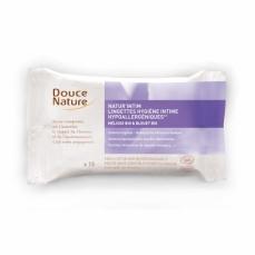 DOUCE NATURE Lingettes hygiène intime hypoallergéniques 100% bio biodégradable