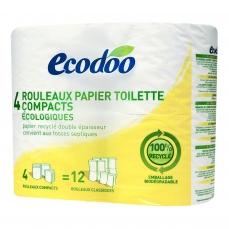 ECODOO - Rouleaux papier toilette compacts écologiques