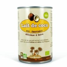 LA MAISON DU COCO Lait de Coco bio 6%