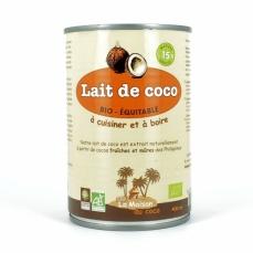 LA MAISON DU COCO Lait de Coco bio 15%