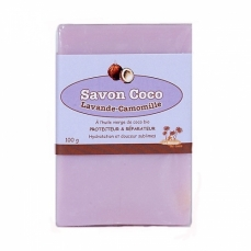 LA MAISON DU COCO - Savon Coco Relax : Lavande / Camomille