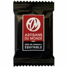 ARTISANS DU MONDE Napolitains carrés de chocolat Noir bio & équitable