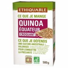 ETHIQUABLE Quinoa Blond bio & équitable croquant