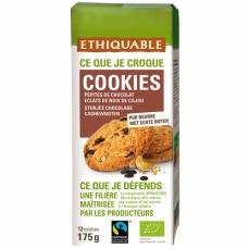 ETHIQUABLE - Cookies Pépites de Chocolat Cajou