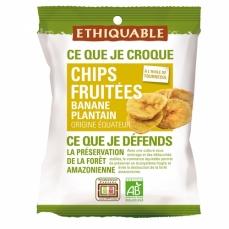 ETHIQUABLE - Chips fruitées Banane Plantain