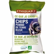 ETHIQUABLE - Chips Pomme de Terre Bleue