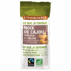 ETHIQUABLE PROMO DÉCOUVERTE - Noix de Cajou Grillées et Salées bio & équitable