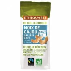ETHIQUABLE - Noix de Cajou Grillées à Sec