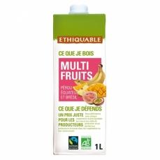 ETHIQUABLE Jus Multi Fruits bio & équitable