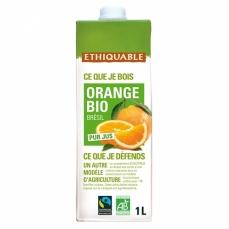 ETHIQUABLE Pur jus d'orange bio & équitable