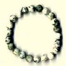 Bracelet perles Agate arbre 1