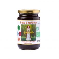 """Pâte à tartiner bio à la spiruline """"Spirunella"""" - 380g DLUO: 18/01/2020"""