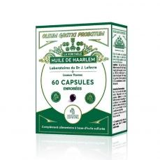Huile de Haarlem - 60 capsules enrobées -