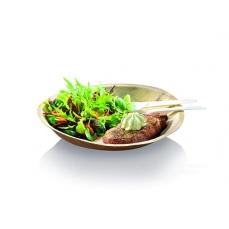 25 assiettes plates Palmier - 24 cm -
