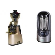 MAXI PACK : Extracteur Carbel GG Gold + Blender sous vide REMY blanc