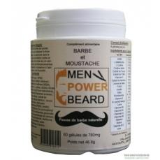 Men Power Beard 60 gélules (barbe et moustache)