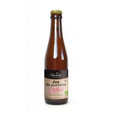 Jus de pomme pétillant biologique 25cl - Baramel