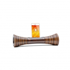 Idee cadeau de Noel,Mangobeat,ENCEINTE naturel en bois sans BLUETOOTH - Amplificateur naturel ECOLOGIQUE, station d'accueil Iphone