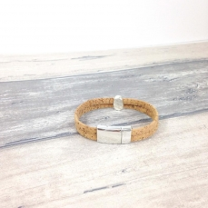 Bracelet naturel en liège Manon