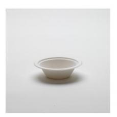 50 bols blancs en canne à sucre 400 ml - 18 cm / 4 cm - assiettes à soupe