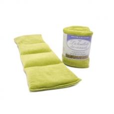 Eco-conseils® - Bouillotte micro-ondes en velours - 100% naturel - Utilisation polyvalente (Vert mousse)
