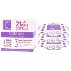 Sleep Box Trio de Capsules aux 21 Huiles Essentielles naturelles pour un sommeil rapide et réparateur - Diffuseur IRIS de E2 Essential Elements