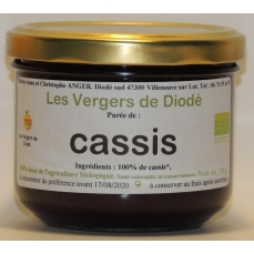 cassis 100% fruit