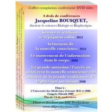 Coffret  DVD 4 conférences de Jacqueline BOUSQUET