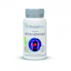 COMPLEXE Détox Hépatique - 120 gélules / Programme pour 2 cures de 15 jours