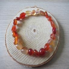 Bracelet en pierre de Cornaline