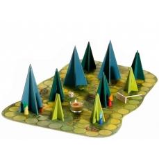 jeu cooperatif ombres en forêt