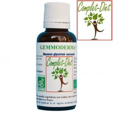 Gemmoderma - complexe de macérâts de Gemmothérapie pour la peau